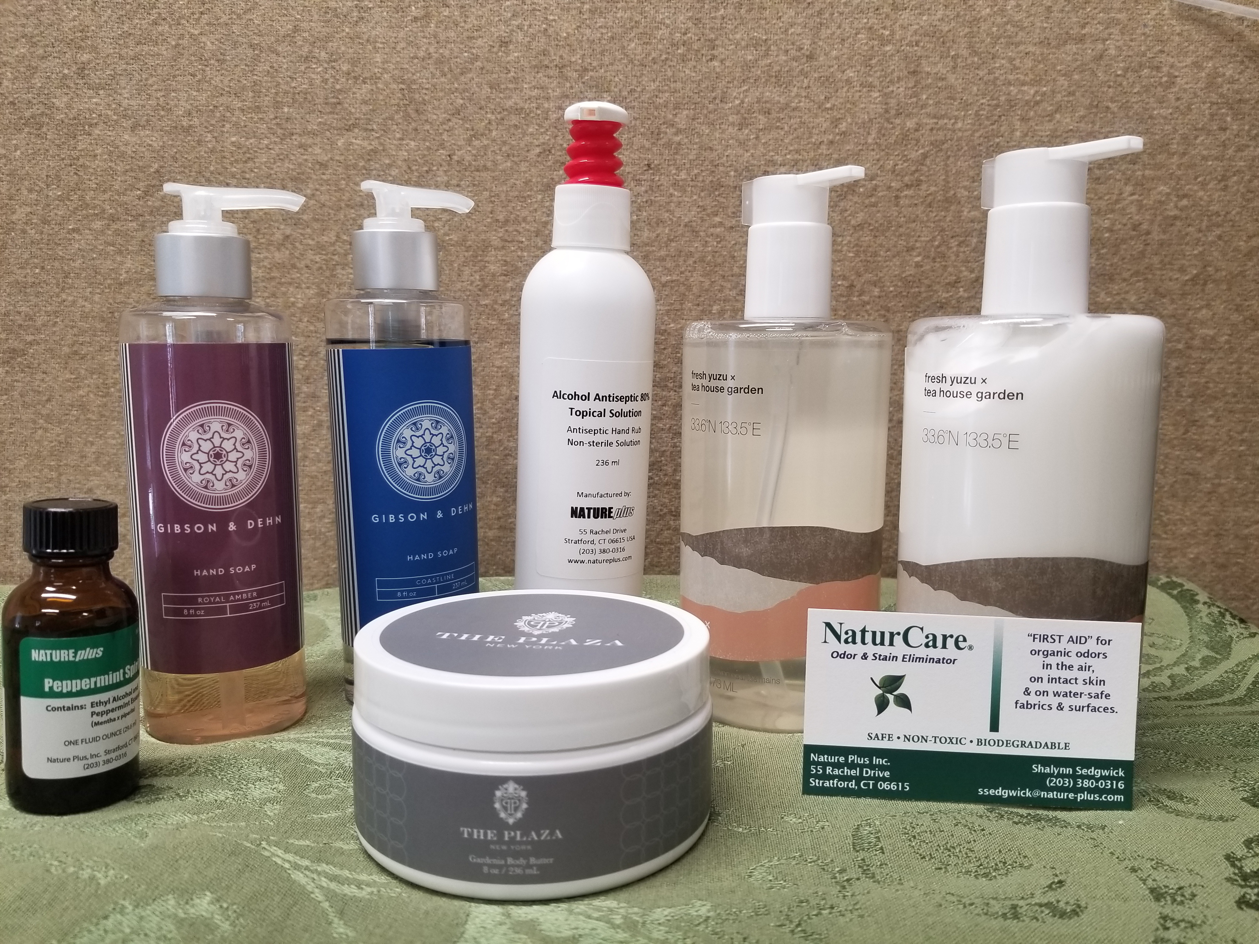 Pamper yourself raffle prize from NaturCare for the ONL 2020 Annual Meeting.
