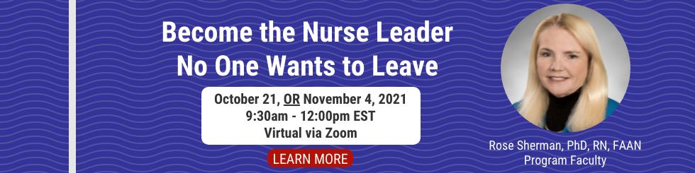 Nurse Retention seminar by the Organization of Nurse Leaders